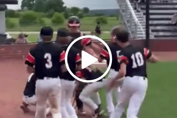 Baseball Team Goes Full NASCAR Pit Crew To Help Catcher