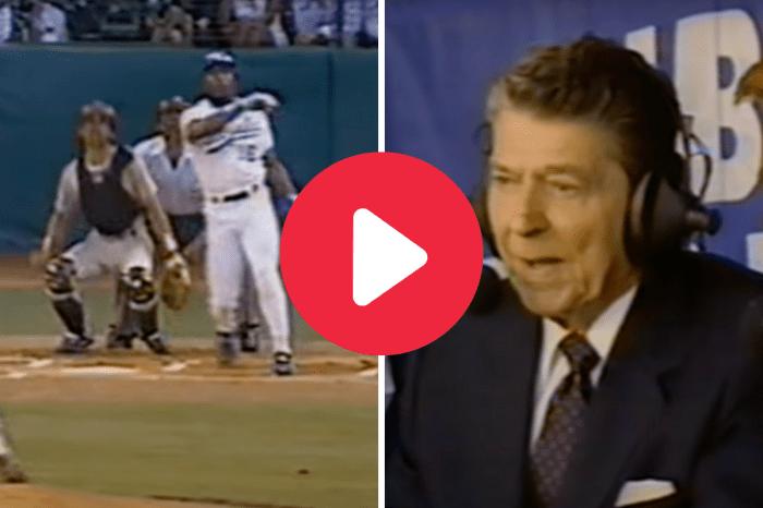 Bo Jackson's 448-Foot ASG Blast Turned Ronald Reagan Into a Fan