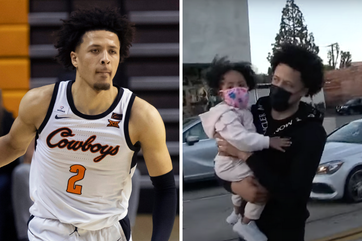 Cade Cunningham's Daughter Drives Him to Be Great