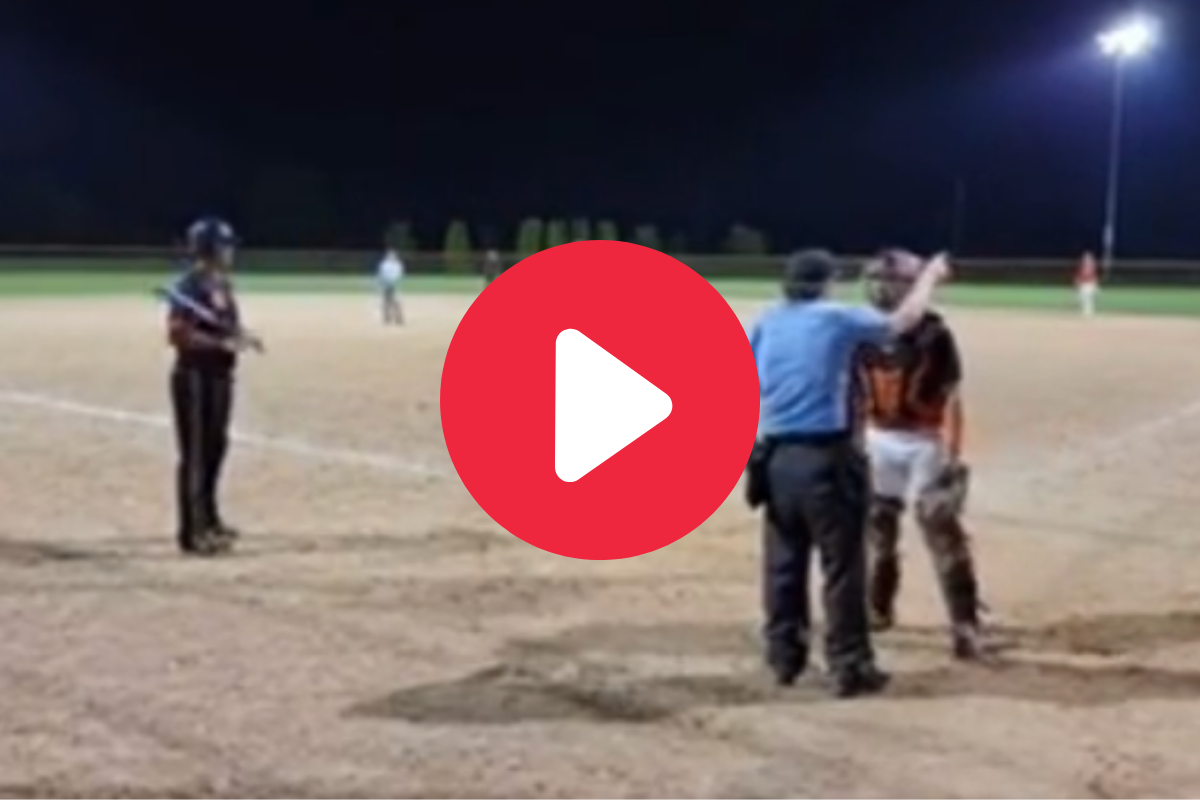 Batter Tauntingly Blows Kiss at Catcher, Who Then Gets Ejected