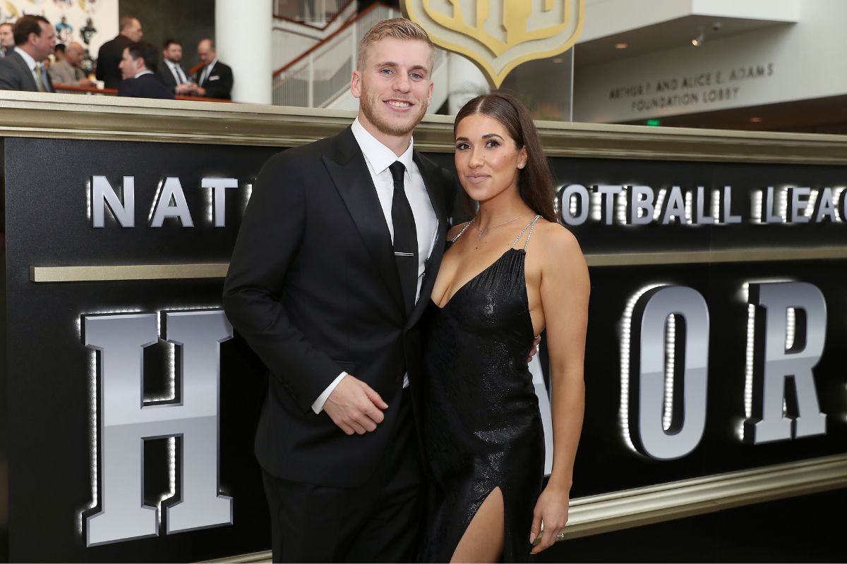 Cooper Kupp Married His Wife in College & Started a Family