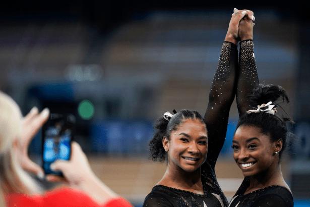 Jordan Chiles Almost Quit Gymnastics. Simone Biles Encouraged Her Not To