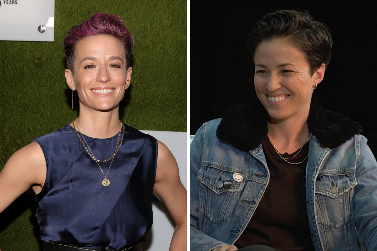 Megan Rapinoe Has a Twin Sister Who Also Played Soccer