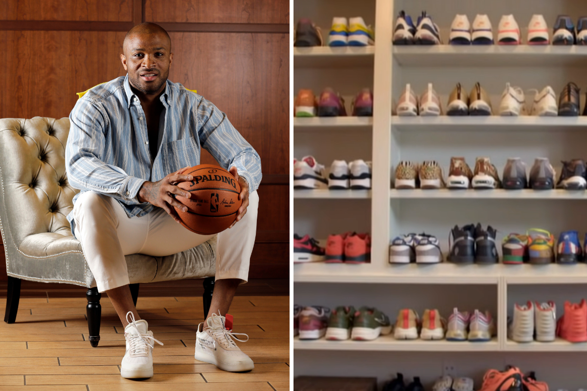 P.J. Tucker's Sneaker Collection Includes a $50,000 Pair of Nikes