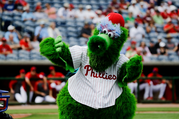 The Phillie Phanatic Makes a Ridiculous Amount of Money