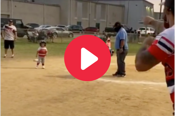 Adorable Kid's Inside-The-Park HR Hilariously Sums Up Tee-Ball