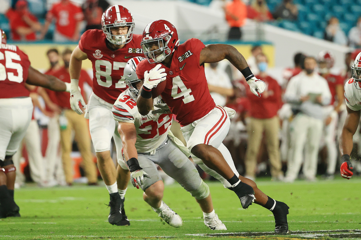 Brian Robinson Stayed True to Alabama, And the Backfield is Finally His
