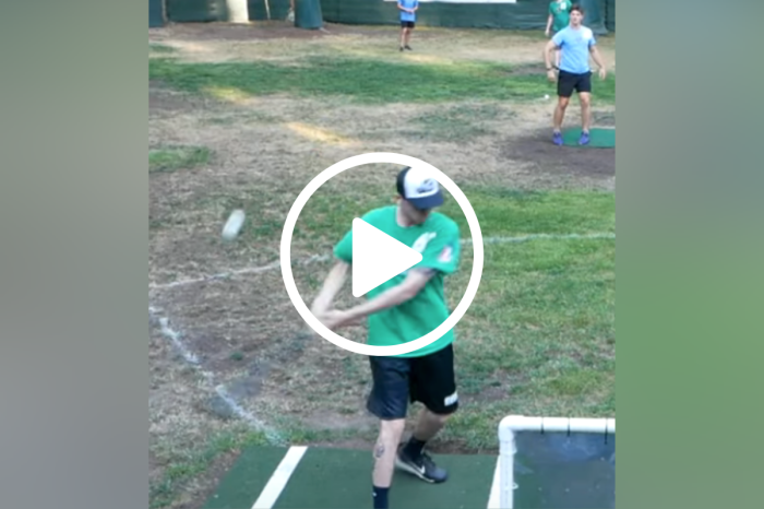Wiffle Ball Player's Backward Hit is Pure Wizardry