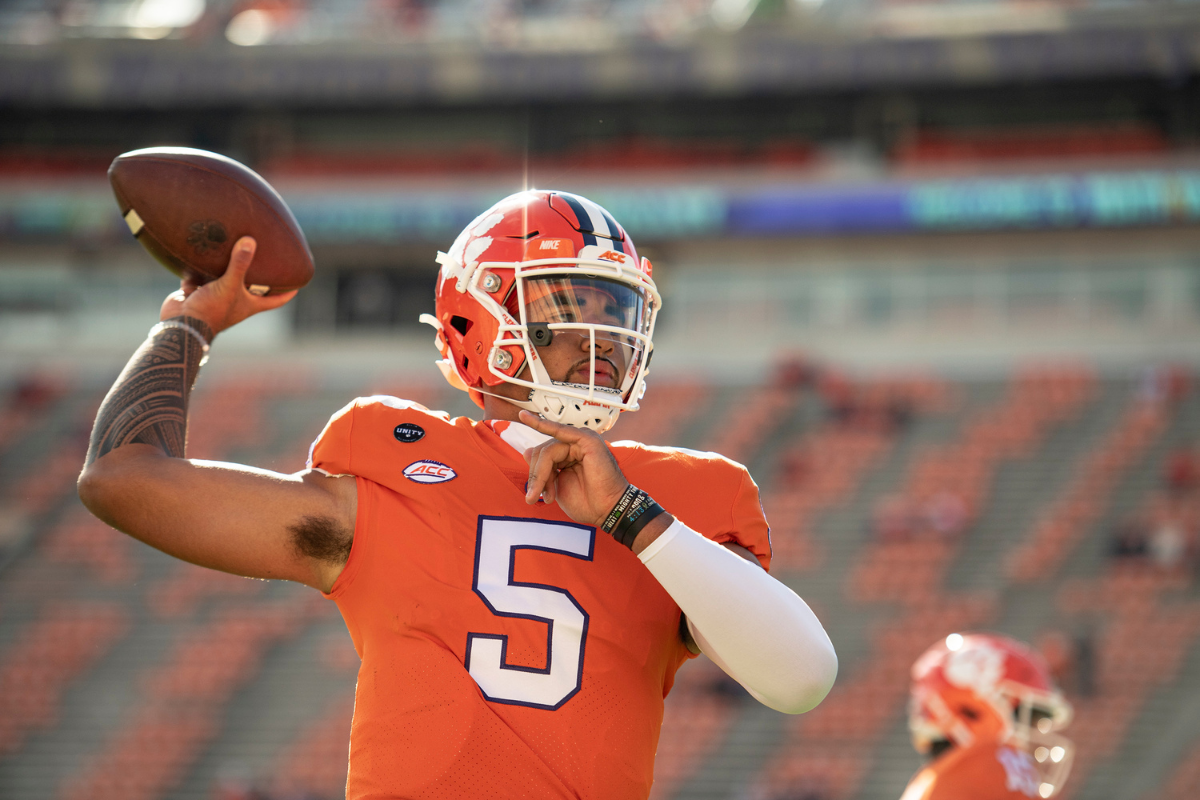 DJ Uiagalelei is Trevor Lawrence's Replacement, But He May Be Even Better