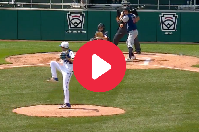 """This """"Mini Randy Johnson"""" Threw a Perfect Game & Will Be the LLWS's Biggest Star"""