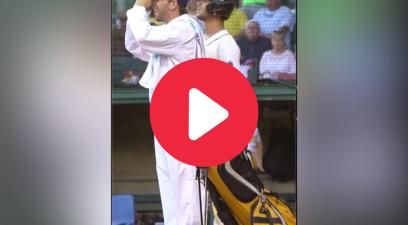 Batter Utilizes Golf Caddie in Hysterical Walk Up