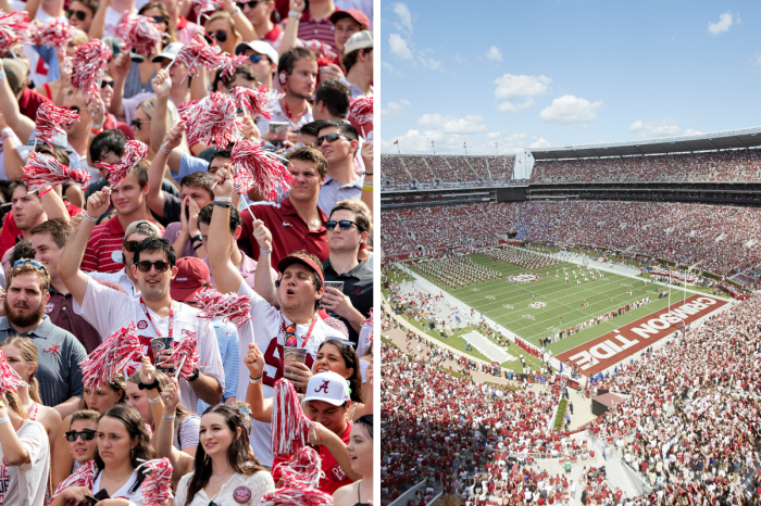 Alabama Fans Don't Rush The Field. Here's Why