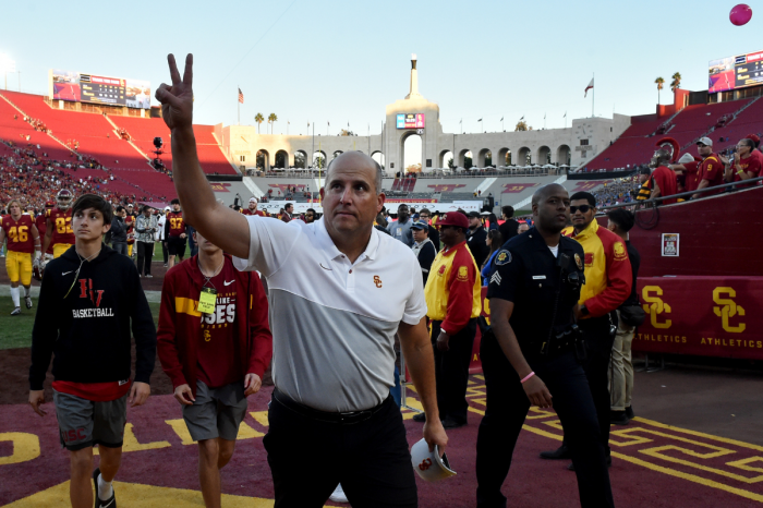 Firing Clay Helton Now Shows USC Doesn't Know What It's Doing