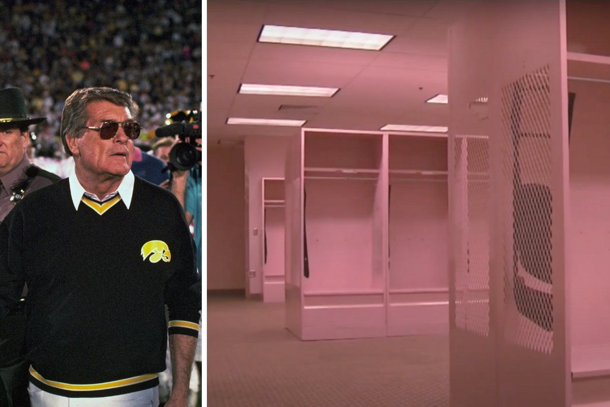 Iowa's Visiting Locker Room is Entirely Pink, and Opposing Teams Hate It