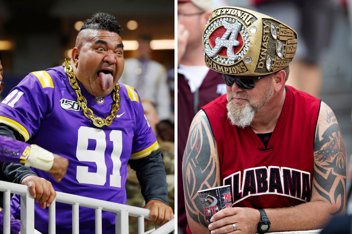 Ranking the SEC's Most Loyal Fan Bases