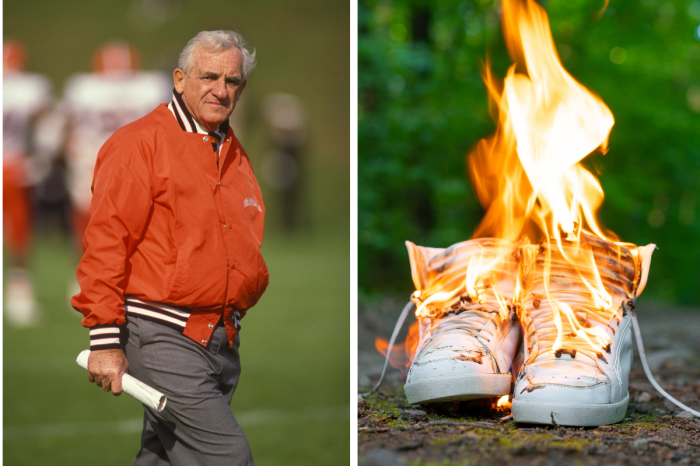"""Syracuse's """"Burning of the Shoes"""" Tradition Was College Football's Weirdest Detox"""