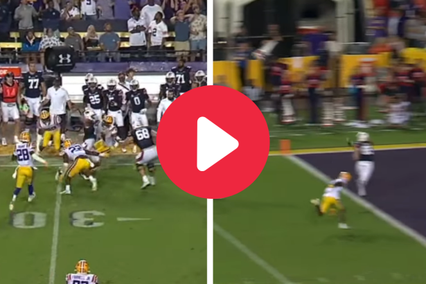 Bo Nix's 24-Yard TD Ended a 22-Year Drought Against LSU