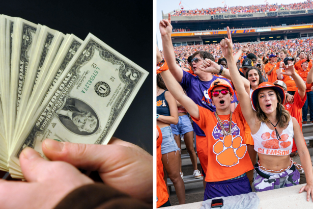 Seeing $2 Bills? That Means Clemson Fans Are in Town