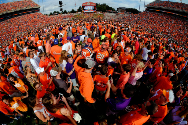Why Do Clemson Fans Rush the Field After Every Home Win?