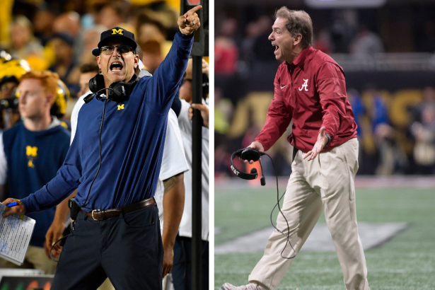 The 5 Loudest College Football Coaches Can Be Heard on Mute