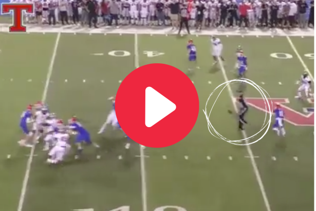 High School Team's Pick-6 Gets Generous Assist From Referee