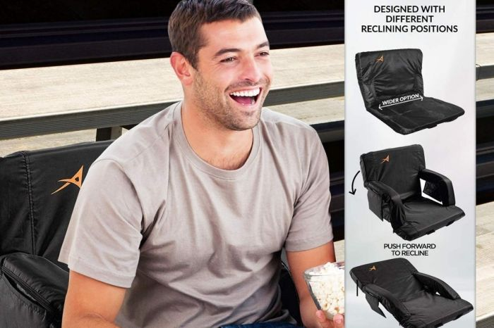 $129 Heated Stadium Cushion Rakes In Nearly 500 5-Star Ratings From Sports Fans